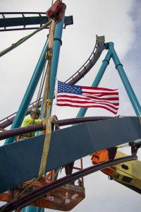 Última peça da Mako é instalada no SeaWorld Orlando