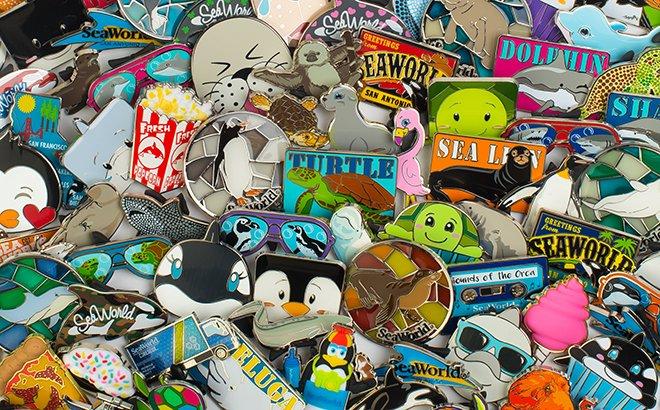 O SeaWorld Pin Trading terá início no dia 24 de fevereiro de 2018
