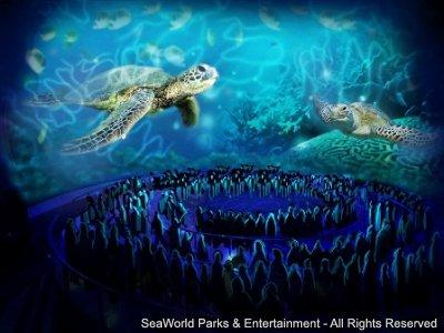 TurtleTrek inaugura no SeaWorld em 27 de abril