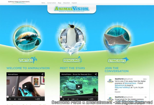 Conheça a plataforma AnimalVision do SeaWorld Parks & Entertainment