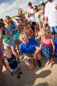 SeaWorld Orlando comemora mais um caso de sucesso em reabilitação de tartaruga marinha