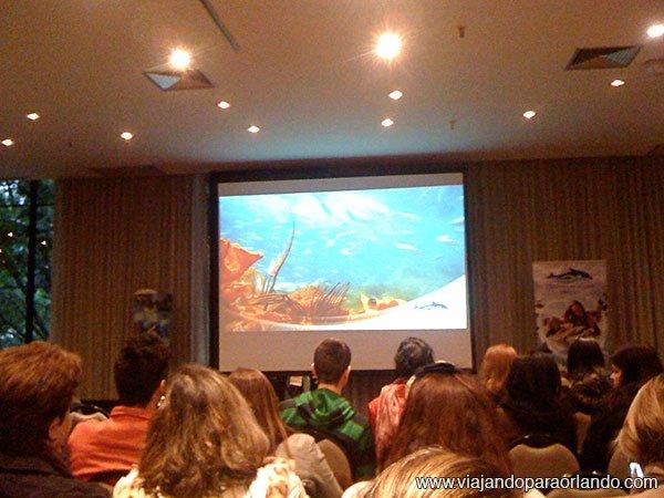 Treinamento realizado pelo SeaWorld Parks & Entertainment