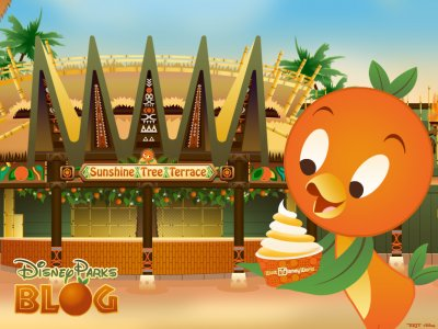 Orange Bird está de volta ao Magic Kingdom