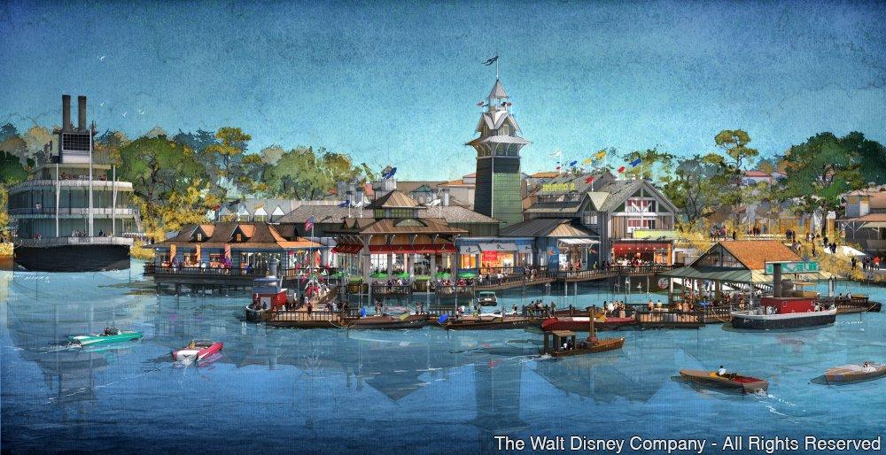 Morimoto Asia e The BOATHOUSE serão inaugurados em Disney Springs no próximo ano