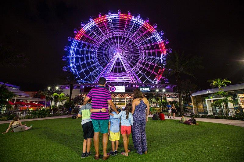 The Orlando Eye também irá celebrar o Dia da Independência dos EUA