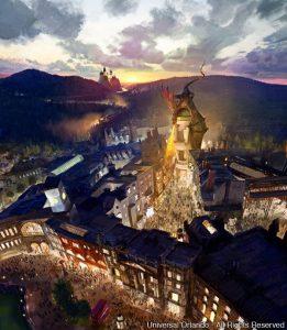 A Universal acaba de publicar novidades sobre a expansão de The Wizarding World of Harry Potter