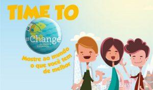 #CHANGE: mostre ao mundo o que você tem de melhor