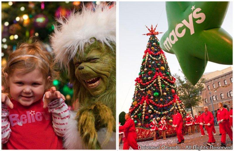 As tradicionais festas de fim de ano do Universal Orlando retornam no dia 6 de dezembro de 2014