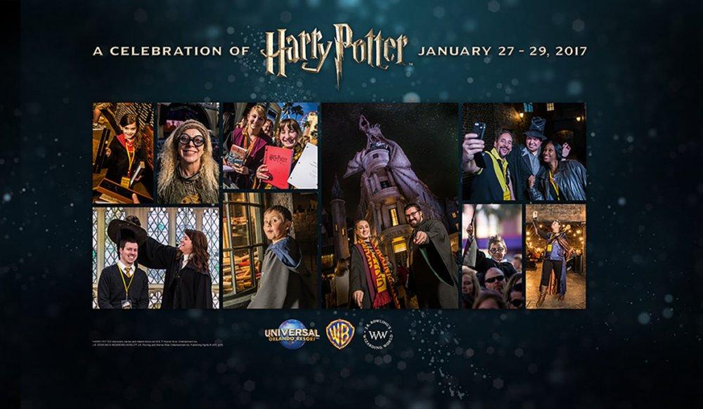 A Universal divulgou mais detalhes sobre o evento A Celebration of Harry Potter de 2017
