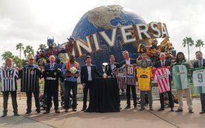 Ação do Universal Orlando leva famílias que torcem juntas para assistir aos jogos da Florida Cup