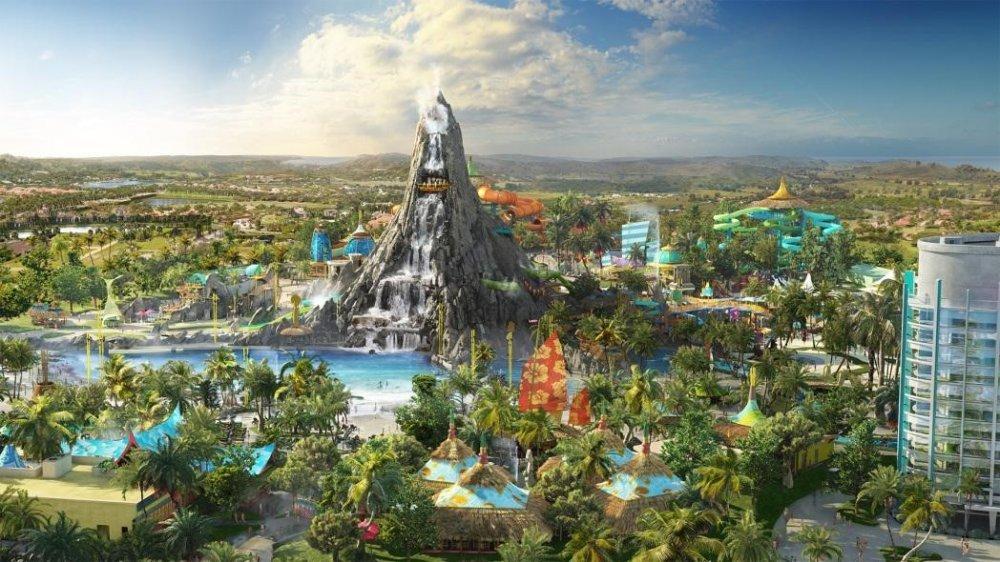 Volcano Bay, terceiro parque temático do Universal Orlando Resort, abrirá em 2017