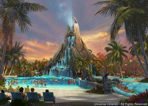 Universal Orlando Resort anuncia a construção de um parque aquático – Volcano Bay – com previsão de ser inaugurado em 2017