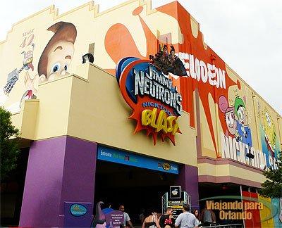 Jimmy Neutron's Nicktoon Blast – Universal Studios – irá fechar