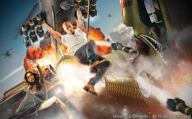 Atração inédita Fast & Furious chega ao Universal Orlando Resort em 2017