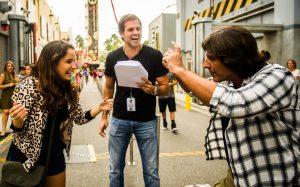 Crônica Brasileira filmada no Universal Orlando Resort