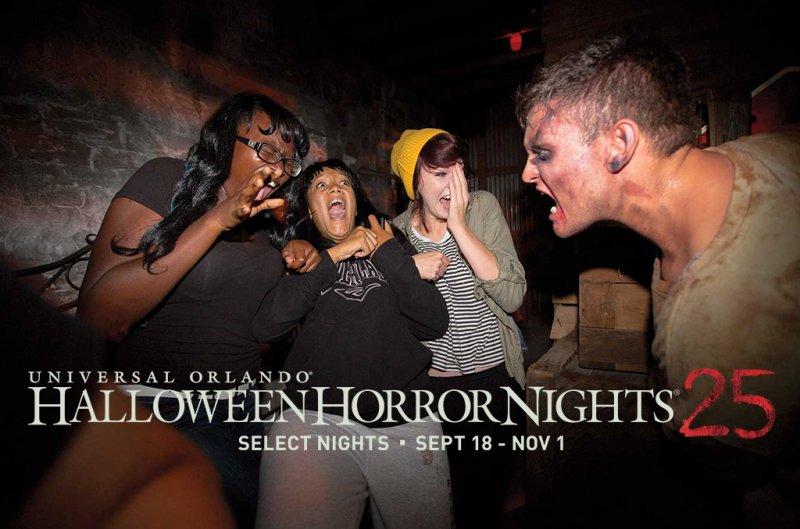 A Universal já divulgou as datas do Halloween Horror Nights de 2015