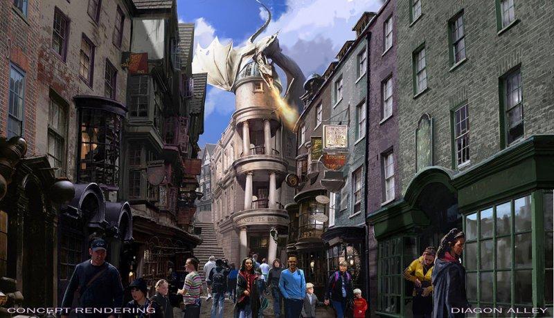 A Universal acaba de divulgar mais detalhes sobre a expansão de The Wizarding World of Harry Potter – Diagon Alley