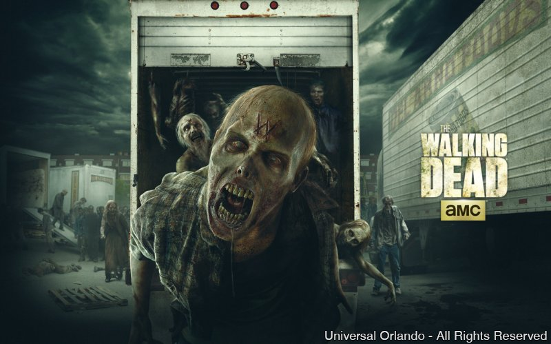 The Walking Dead está de volta ao Halloween Horror Nights