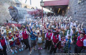 O Hogwarts Express já transportou um milhão de passageiros