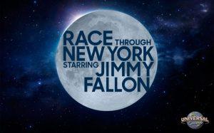 Race Through New York Starring Jimmy Fallon é a nova atração do parque Universal Studios Florida para 2017