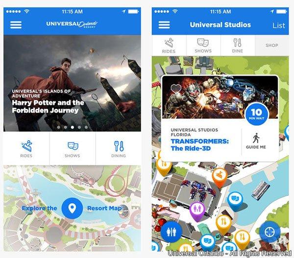 O Universal Orlando Resort lança novo aplicativo e oferece wifi gratuito em seus parques temáticos e CityWalk
