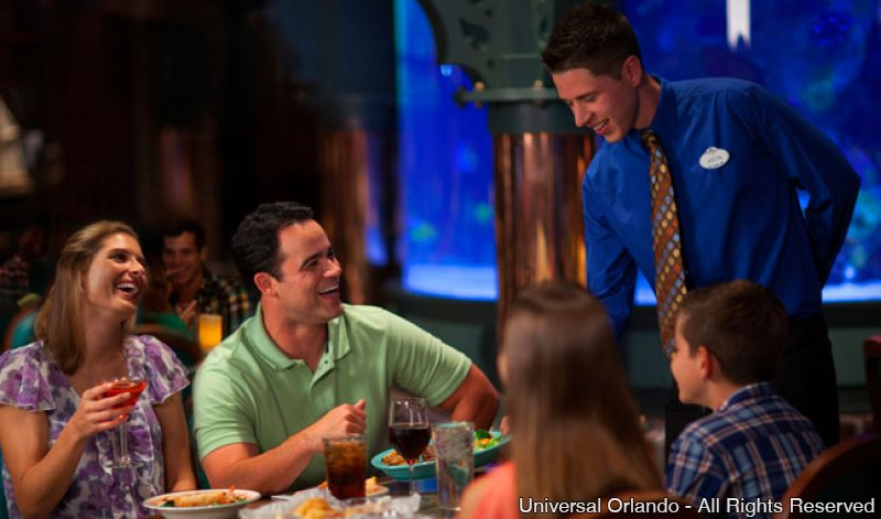 Universal's Cinematic Spectacular Dining Experience