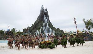 O novo parque aquático temático Volcano Bay já está aberto!