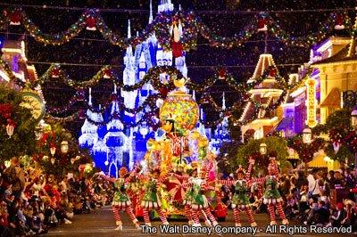 Festividades de final de ano em Walt Disney World Resort – 2012
