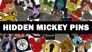 Conheça os novos Hidden Mickey Pins que estarão disponíveis em breve