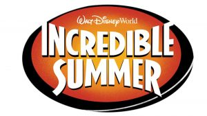 Incredible Summer (Férias inesquecíveis) terá início no dia 25 de maio de 2018 no Walt Disney World Resort