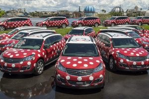 O serviço de transporte denominado Minnie Van já está em funcionamento no Walt Disney World Resort