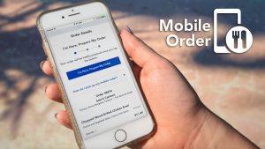 O serviço de pedidos móveis de alimentação e bebidas já está aceitando planos de refeições