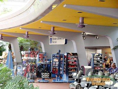 Preços para locação de cadeira de rodas e carrinhos elétricos (ECV) em Walt Disney World Resort