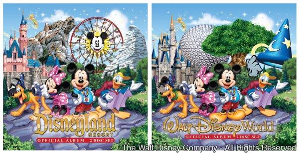 Novos álbuns com as músicas dos parques da Disney serão lançados em 20 de agosto de 2013
