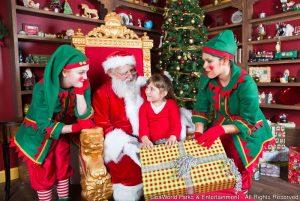 Christmas Town volta ao Busch Gardens Tampa