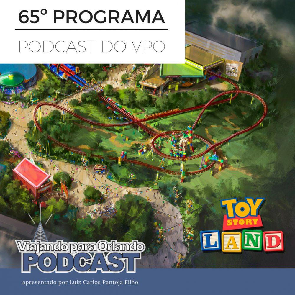 Viajando para Orlando – Podcast – 65