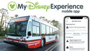 Já é possível consultar os horários dos ônibus através do aplicativo My Disney Experience