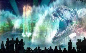 O espetáculo noturno Universal Orlando's Cinematic Celebration está em fase de testes