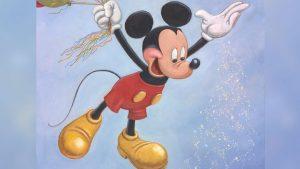 Foi revelado o retrato oficial para o aniversário de 90 anos do Mickey