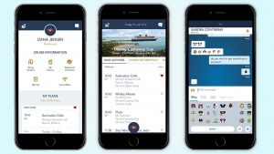 O aplicativo móvel da Disney Cruise Line foi aprimorado
