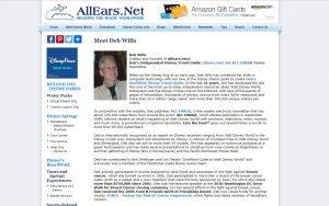 Deb Wills fundadora do famoso site AllEars.Net aposentou-se