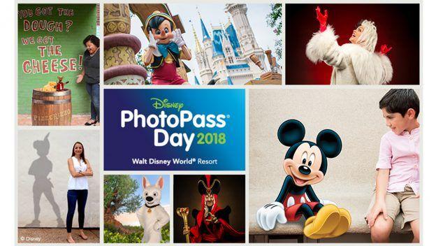 Saiba mais sobre as oportunidades especiais para fotos durante o Disney PhotoPass Day 2018