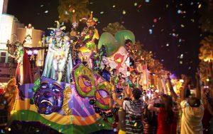 Já foram divulgadas as datas do Mardi Gras 2019 no Universal Orlando