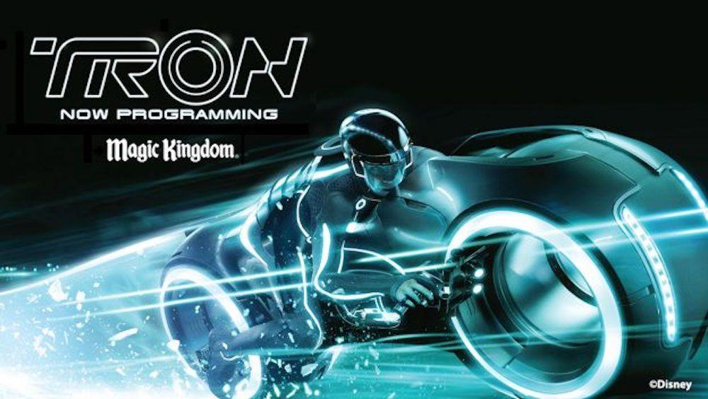 Mais informações sobre a construção da nova montanha-russa inspirada em Tron do Magic Kingdom
