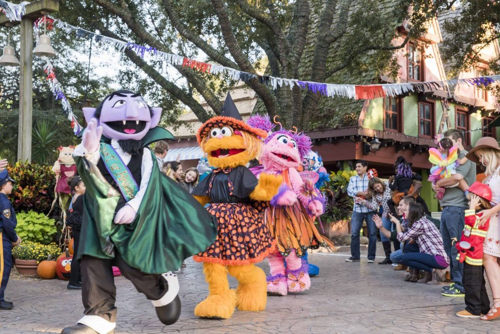 Halloween da Sesame Street - Busch Gardens Tampa Bay