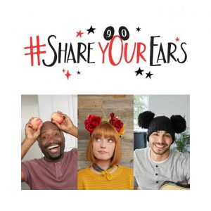 Participe da campanha #ShareYourEars a ajude a Make-A-Wish