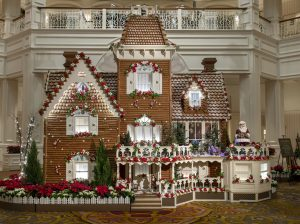 Disney exibe lindas criações com pão de mel para as festas de fim de ano