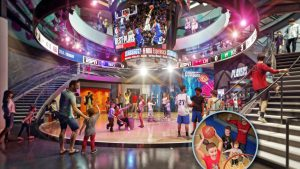 Novos detalhes sobre a atração NBA Experience