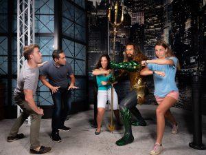 A figura de Jason Momoa como Aquaman já está no  Madame Tussauds Orlando