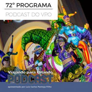 Viajando para Orlando – Podcast – 72